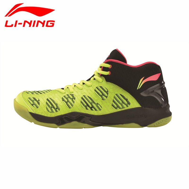 Li Ning Neuesten männer Badminton Schuhe Atmungsaktives Innenfutter Athletisch Sneaker Anti Rutschigen Sportschuh Li Ning Echtes AYAM011 L740