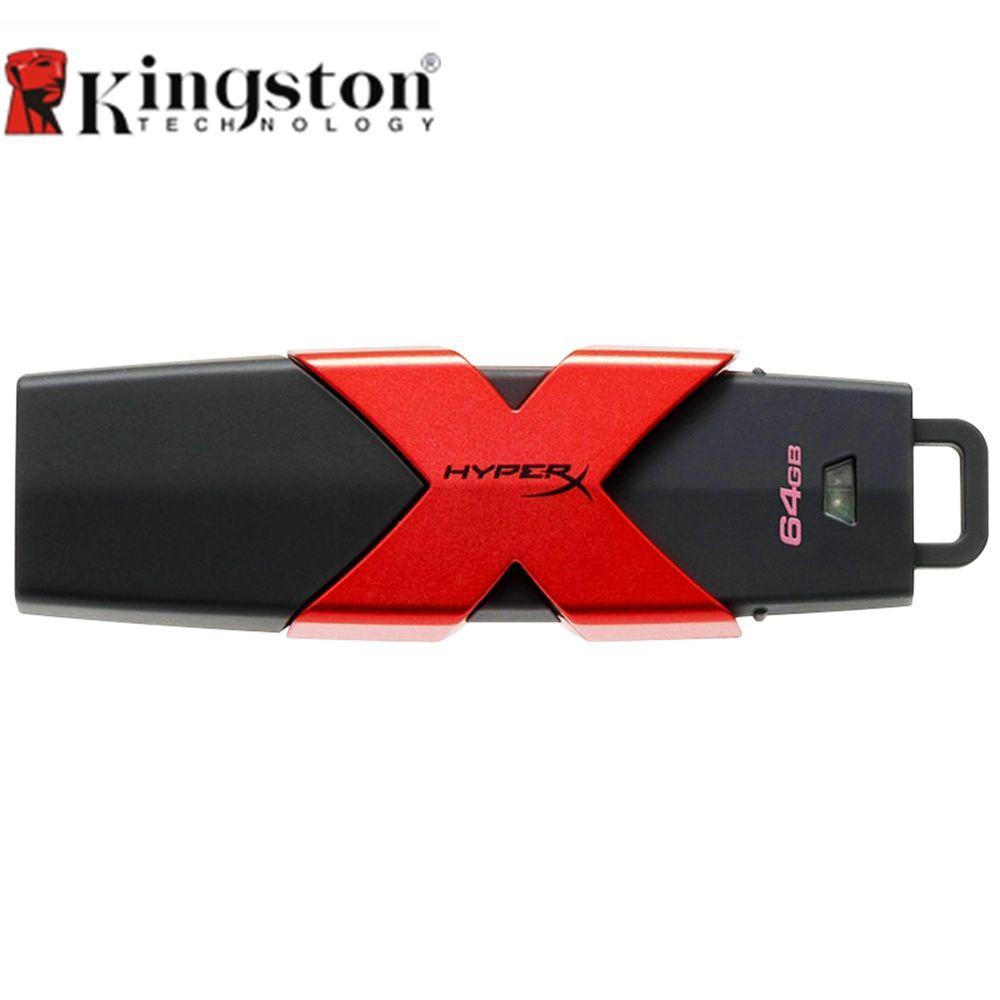 Kingston HyperX Savage USB3.1 Flash Drive Pen Drive 64 GB 128 GB 256 GB 512 GB Memory Stick 350 MB/s Vitesse de Lecture Haute vitesse