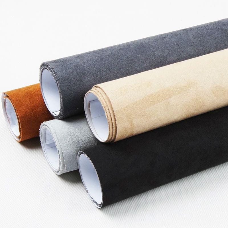 Carbins большой ворсовой ткани с самоклеющиеся ткань пленка для салона DIY укладки 5 м roll 7 видов цветов