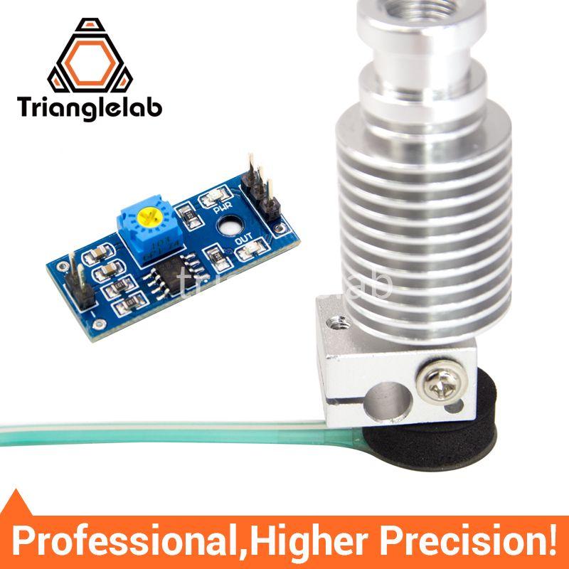 Trianglelab High Precision Z-probe Auto bed leveling sensor kit 3D touch sensor Kossel delta Z axis 3D printer for E3D MK8