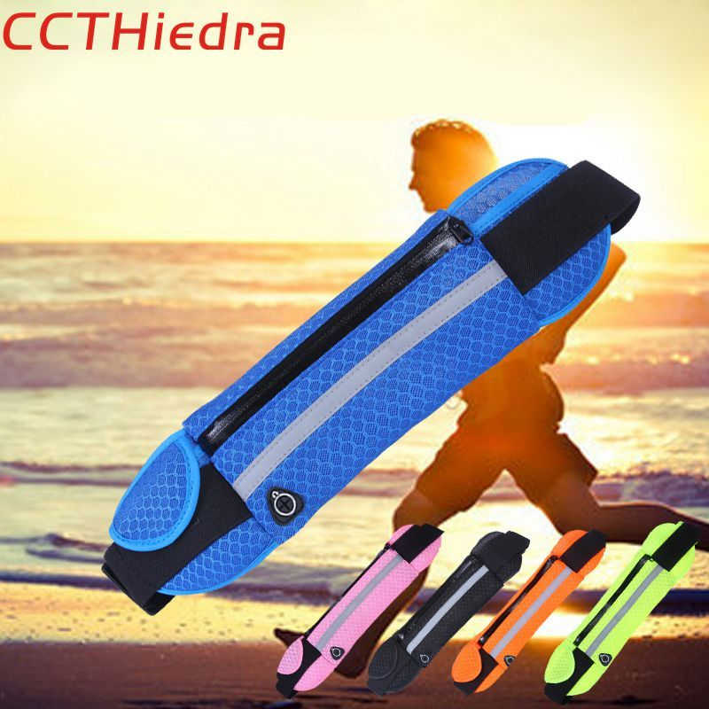CCTHiedra Sport Running Waist Belt bags pouch Phone Cases Armband For iPhone For Samsung 4.0-6.0'' Universal Mobile Phone Bag