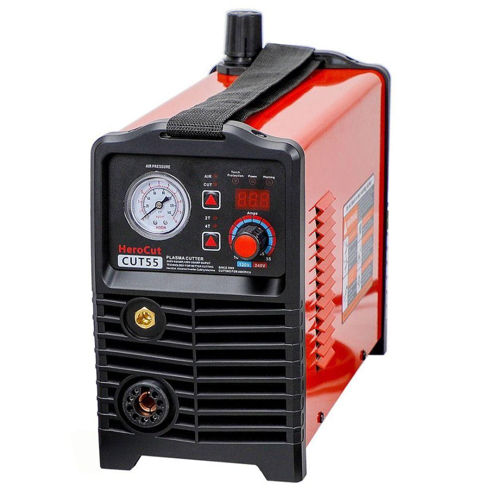 Plasma Cutter IGBT Digital Control CNC Nicht-HF Pilot Arc Cut55 Dual Spannung 120 V/240 V, schneiden maschine Arbeit mit CNC tisch