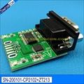 win10 sinforcon cp2102 ftdi ft232rl usb rs232 adapter with pc db9 virtual com port full pinout usb2rs232 cable