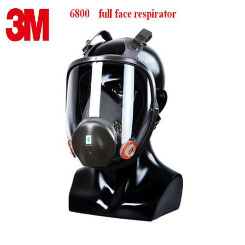 3 Mt 6800 atemschutzmaske hochwertigem gummi atemschutzmaske PC Spiegel anzupassen Giftige gase Malerei pestizid schutzmaske