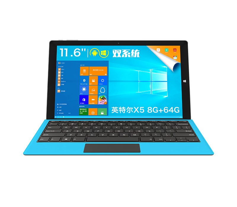 Original 11.6 inch TECLAST TBOOK 16 POWER WINDOWS10 andriod dual os CUP Cherry Trail T3-Z8750