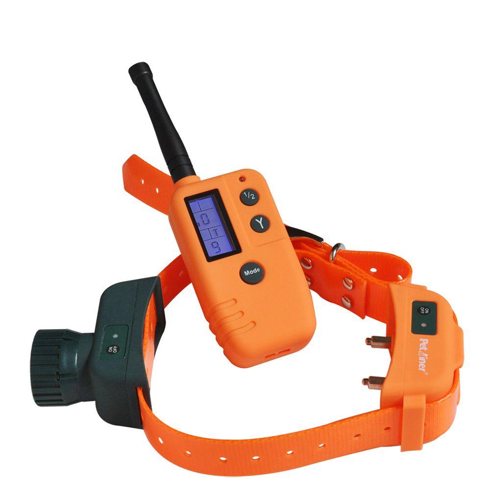 Petrainer 910 Pet Dog Hunter and Beeper Collar, 500M Range Remote with Big LCD Display dog shock collar