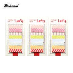 3 Pcs/lot Korea Lucu Alat Tulis Kawaii Sticker Book Planner Scrapbooking Di Notebook Kawaii Bookmark Memo Pad