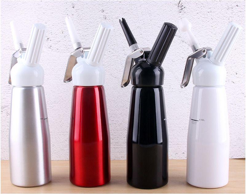 Lekexi Supreme Qualität 500 ml Artisan Schlagsahne Dispenser Siphon Creme Whipper Mit Kuchen Dekorieren Werkzeuge Düsen Für Dessert
