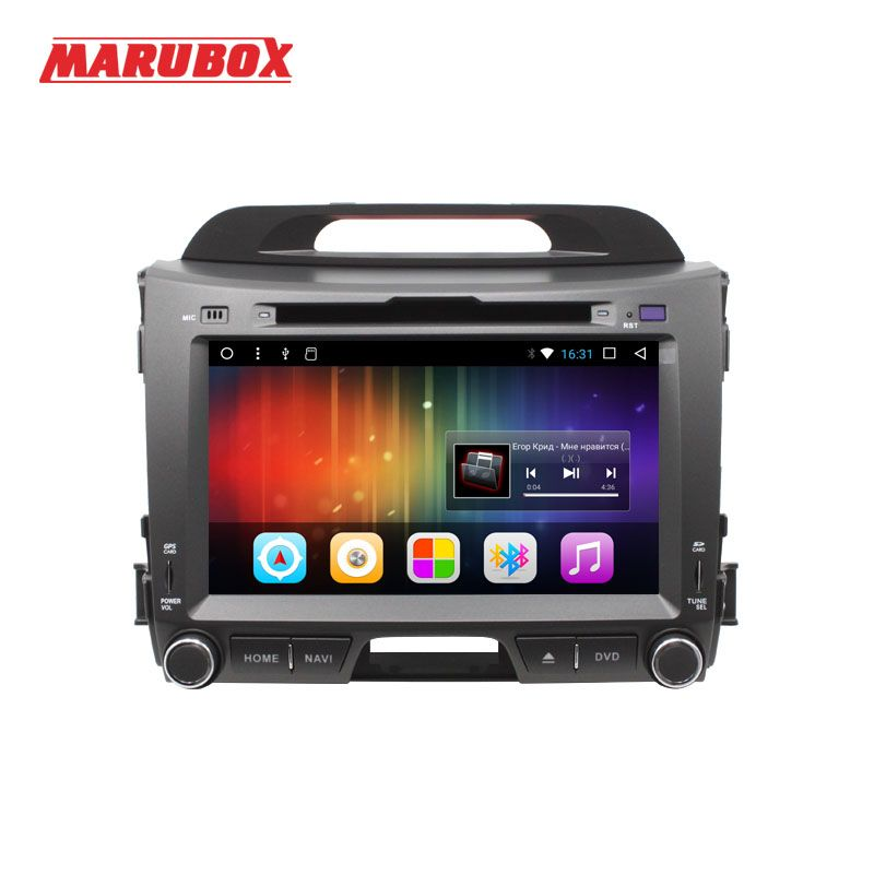 MARUBOX 2Din Android 7.1 For Kia Sportage 2010 2011 2012 DVD Stereo Radio GPS Navigation Audio Car Multimedia Player 8A201DT3