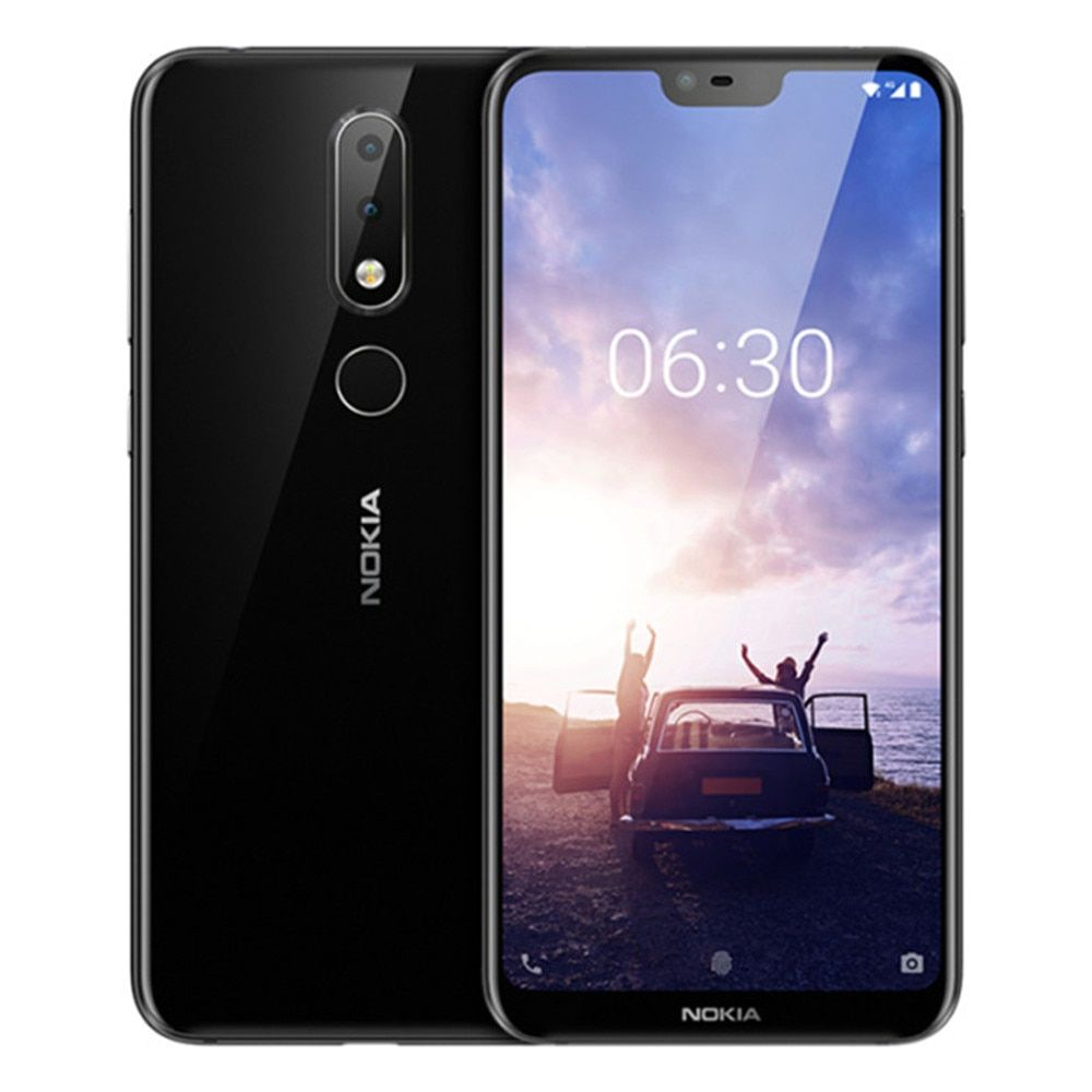 NOKIA X6 6GB RAM 64GB ROM Snapdragon 636 1.8GHz Octa Core 5.8 Inch Screen Dual Camera Android 8.1 4G LTE Smartphone