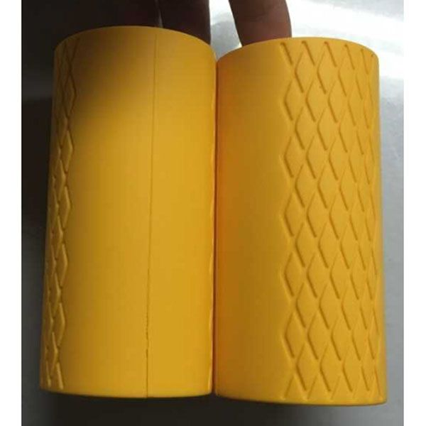 big size yellow Thick Bar Grips Strengthen Your Forearm/Bicep/Tricep/Chest. For Crossfit/Weight Training/Bodybuilding/Strong