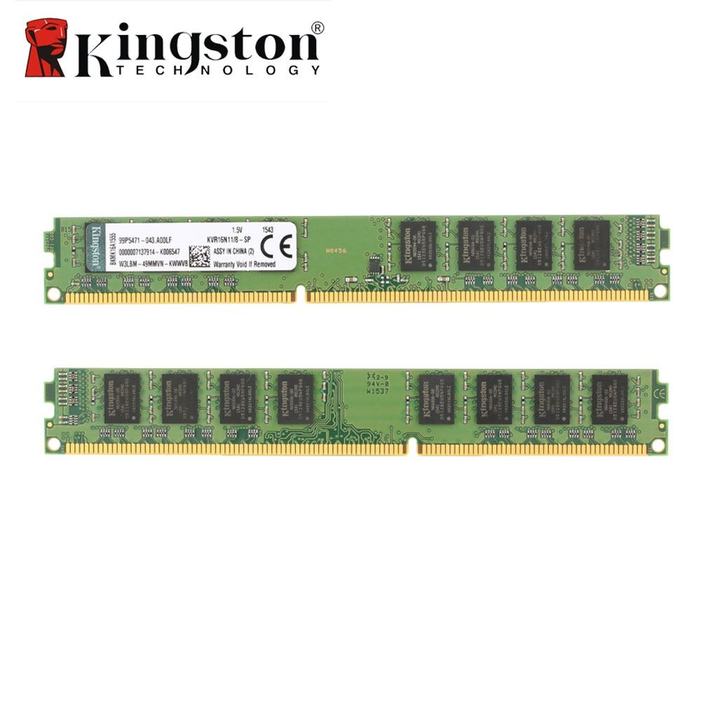 Kingston RAM DDR3 8GB 4GB 1600MHz Intel DIMM Original Memoria DDR3 Memory For Desktop Laptop PC 1.5V 4G 8 GB 240 Pin Memory
