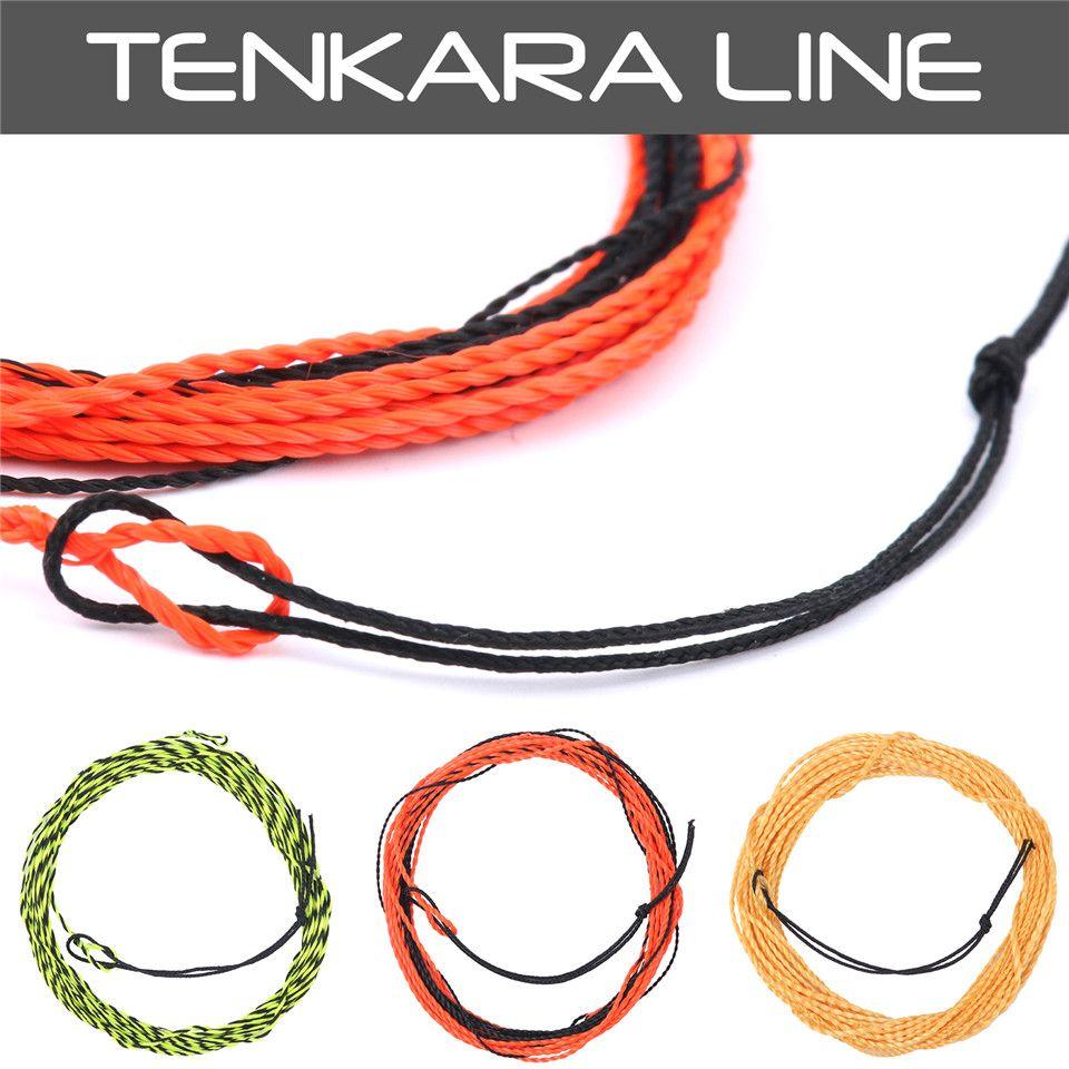 Maxcatch nouvelle ligne de mouche Tenkara ligne de mouche tressée 11-13FT 17LB ligne Tenkara ligne de pêche à la mouche Leader Furld
