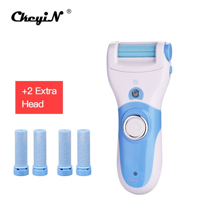Rechargeable Foot Care Tool Feet Electric Pedicure Peeling Dead Skin Removal Feet Machine Foot File +6pcs Replacement Roller