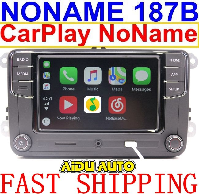 Noname Carplay RCD330 RCD330G Plus 6.5 MIB Radio For VW Golf 5 6 Jetta CC Tiguan Passat Polo Touran 187B RCD510 RCN210 5406 5314