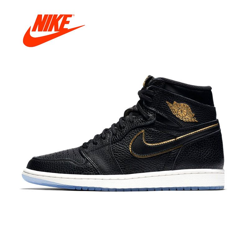 Original Official New Arrivial Authentic AIR JORDAN 1 RETRO HIGH OG Men Basketball Shoes Sneakers Sport Outdoor Comfortable