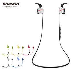 Bluedio Te Olahraga Bluetooth Headset/Nirkabel Earbud dengan Built-In Mikrofon Tahan Keringat Earphone untuk Ponsel dan Musik