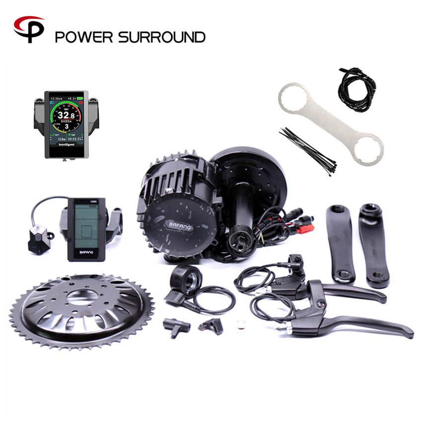 Bafang BBSHD 48V 1000W Ebike Elektrische fahrrad Motor 8fun mitte antrieb electric bike conversion kit mit Brems sensor