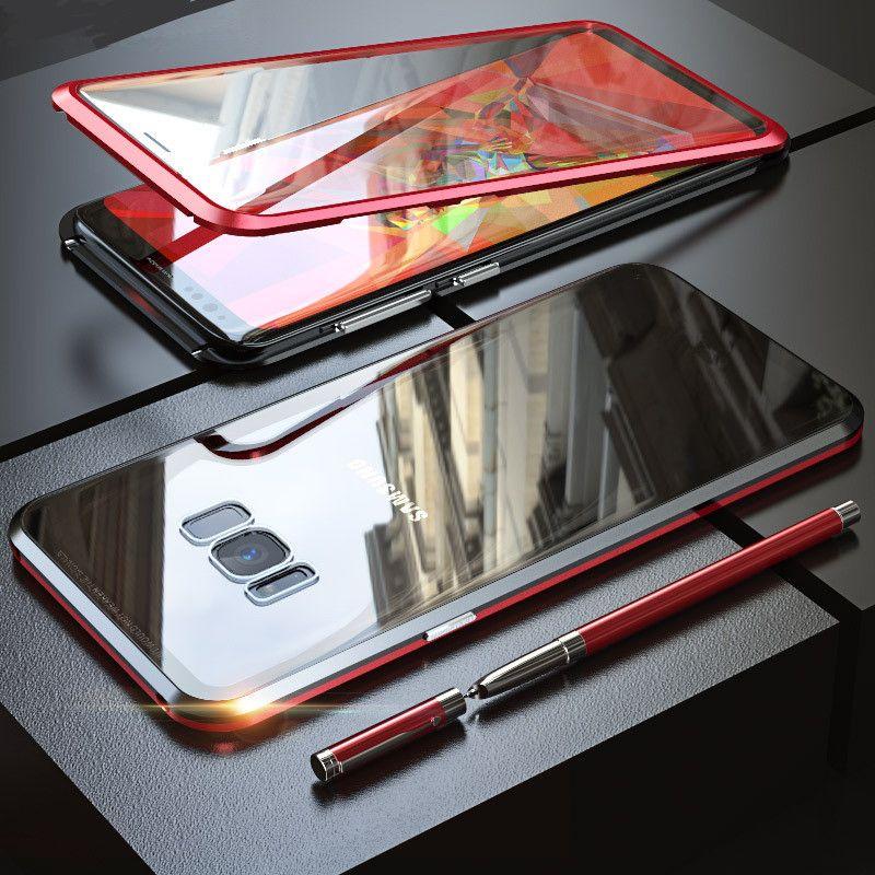 Étui pour samsung Galaxy S10 S10e S10 Plus 5G S8 S9 Plus Note 8 9 360 avec protection d'écran en verre trempé