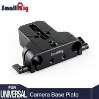 SmallRig Универсальный низкий профиль Dslr камера база пластина с мм 15 мм стержень железнодорожных зажим, таких как для Sony fs7, для Sony a7 series 1674