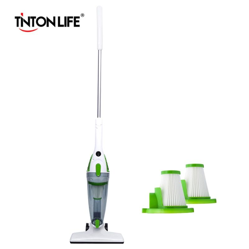 TINTON LIFE Portable and Multifunctional Vacuum Cleaner EU Plug with 2 HEPA Filters