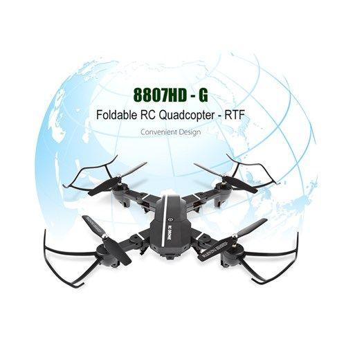 Original RC 8807HD - G Foldable RC Quadcopter RTF WiFi FPV / G-sensor Mode / Voice Control Helicopter
