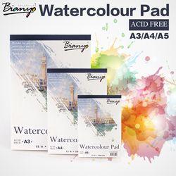 Bianyo A4 A5 Croquis Livre Papeterie Aquarelle Papier Croquis Bloc-Notes Pour Peinture Dessin Journal Journal Portable Créative Cadeau