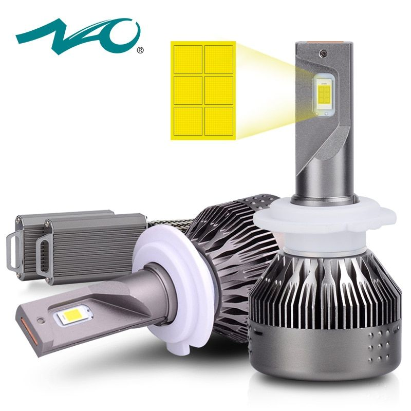 H7 LED Super Bright H4 led Bulb Car Headlights NAO H1 H8 H9 H11 HB3 9005 HB4 9006 Auto Bulb 72W 9000LM Auto Headlamp 6500K 530E