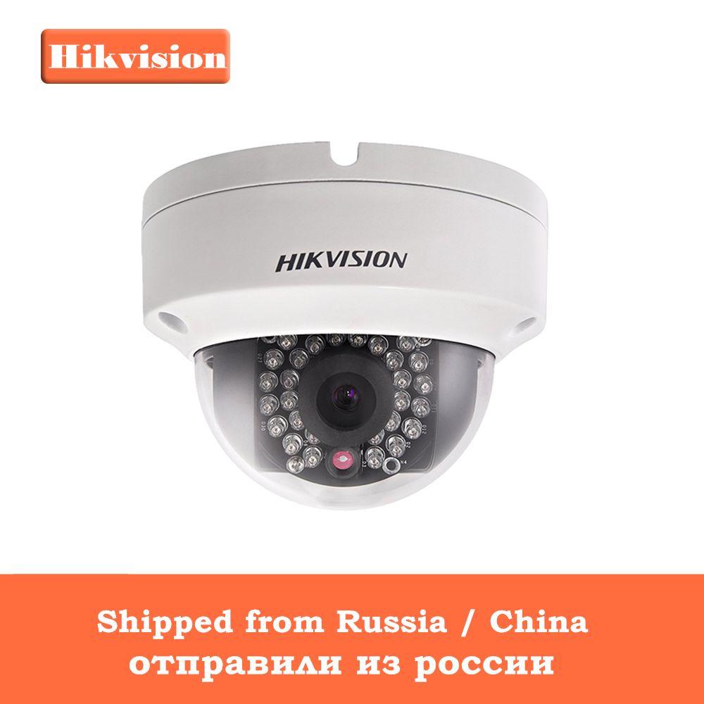 [In Stock] Origianl Hikvision H.265 CCTV Camera DS-2CD2185FWD-IS 8 Megapixesl Dome IP Camera Built-in SD Card Slot & Audio