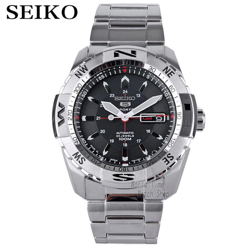 Seiko 5 Sports 24 Jewels Automatic Men's Watch SRP685J1 SRP687J1 SRP689J1 SNZJ05J1 SRPB86K1 SRPB85K1 SRPB81K1