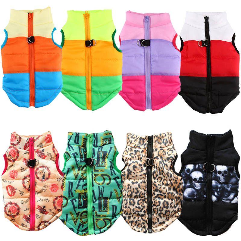 Warme Hund Kleidung Für Kleinen Hund Winddicht Winter Hund Mantel Jacke Padded Kleidung Welpen Outfit Weste Yorkies Chihuahua Kleidung