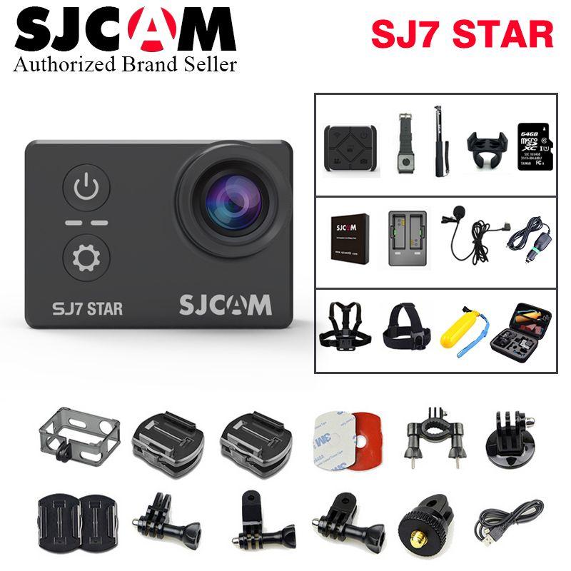 Action Camera SJCAM SJ7 Star Wifi 4K 30fps Gyro 2.0 Inch Touch Screen Ambarella A12S75 Sport Camcorder SJCAM SJ7 Mini DV CAM