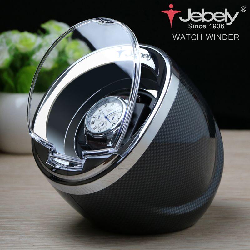 Jebely Noir montre simple Enrouleur pour montres automatiques automatique enrouleur Multi-fonction 5 Modes remontoir montre s 1 JA003