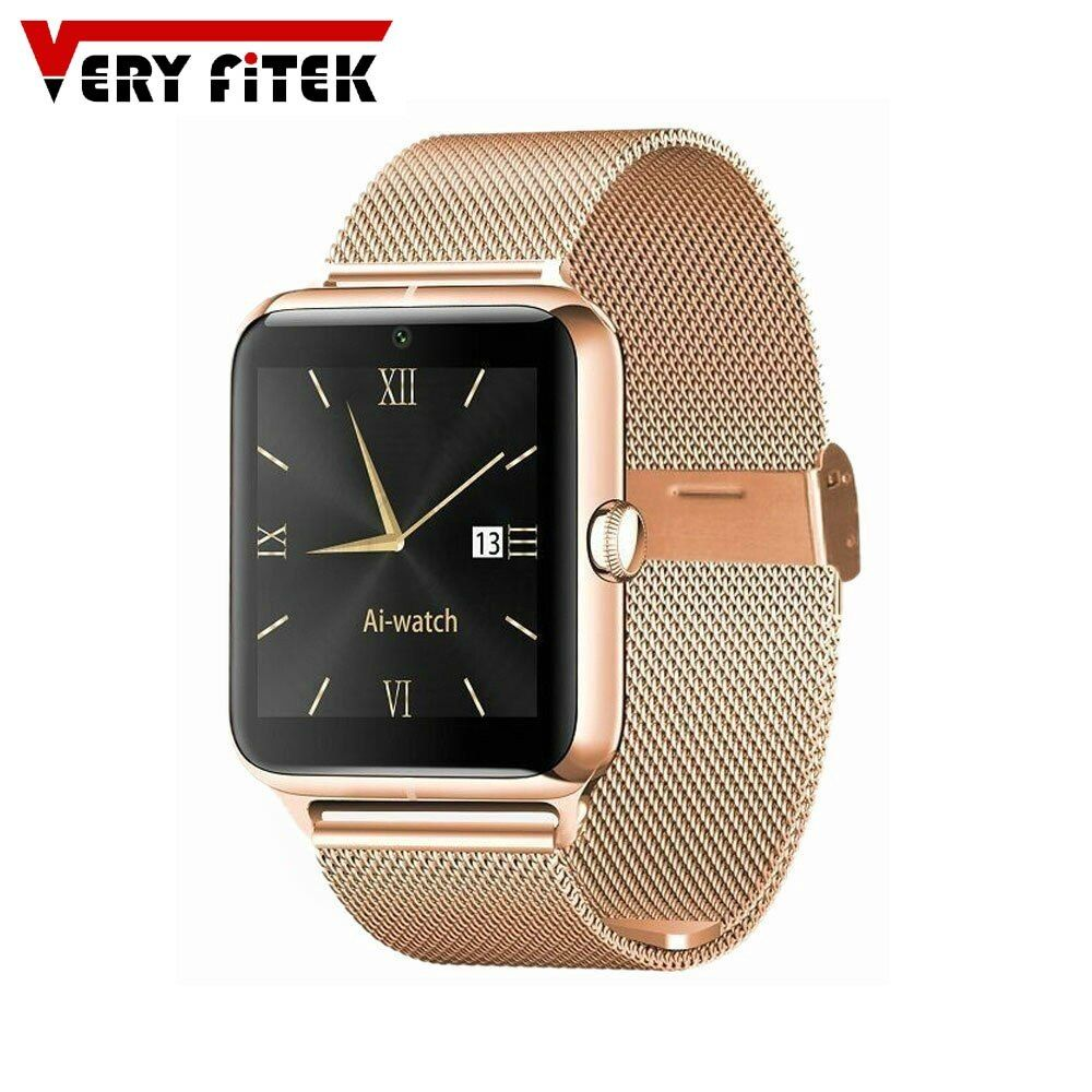 Bluetooth 4.0 Smart Watch 1.54 Inch Support SIM Card with 4G TF Card Pedometer NFC J50+ Wristwatch for IOS and Android Phone