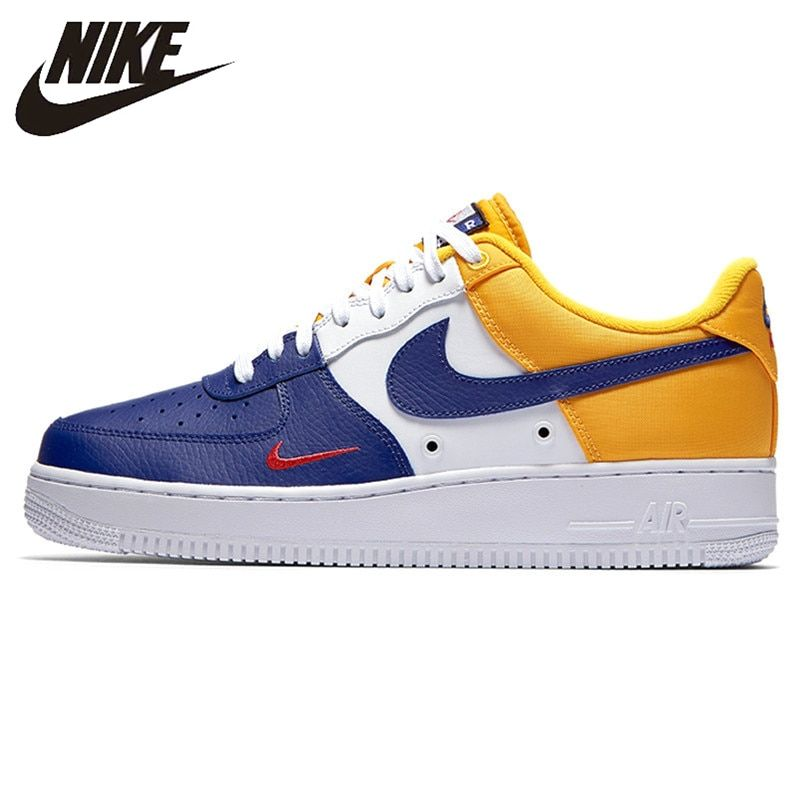 Nike New Arrival Air Force 1 07 LV8 AF1 Men's Skateboarding Shoes Comfortable Outdoor Sneakers 823511-404
