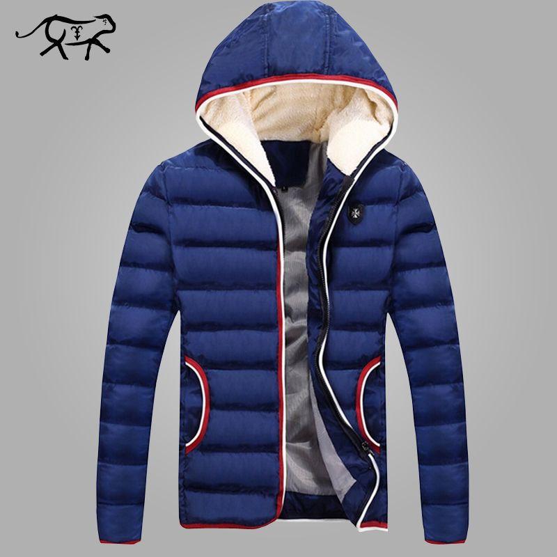 Nouveau 2018 printemps hiver veste hommes marque décontracté haute qualité casual coton Parkas hommes vêtements mode chaud hommes vestes manteaux noir Plus