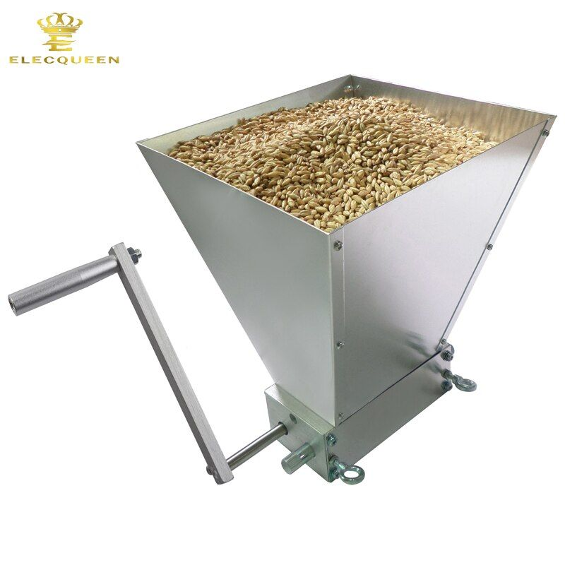 2018 Newest Stainless 2-roller Barley Malt Mill Grain Grinder Crusher For Homebrew Wholesale & Dropshipping