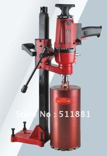 6.6'' 166mm Dual-purpose Core Drill Machine for wet drilling concrete   Complex of Hand held and Desktop machine   3hp 14kg