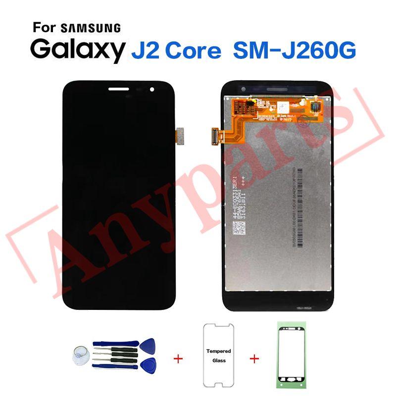 Original Für Samsung J260 SM-J260 display lcd Bildschirm ersatz für Samsung J2 Core SM-J260G J260F J260FN lcd display bildschirm