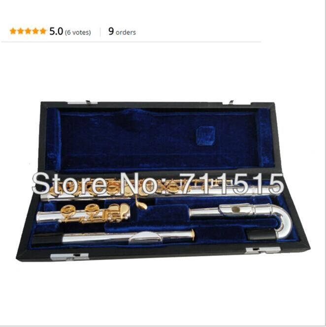 Happy YFL pan wooden flute concert flute transverse flute charm champagne accessories stainless steel flute