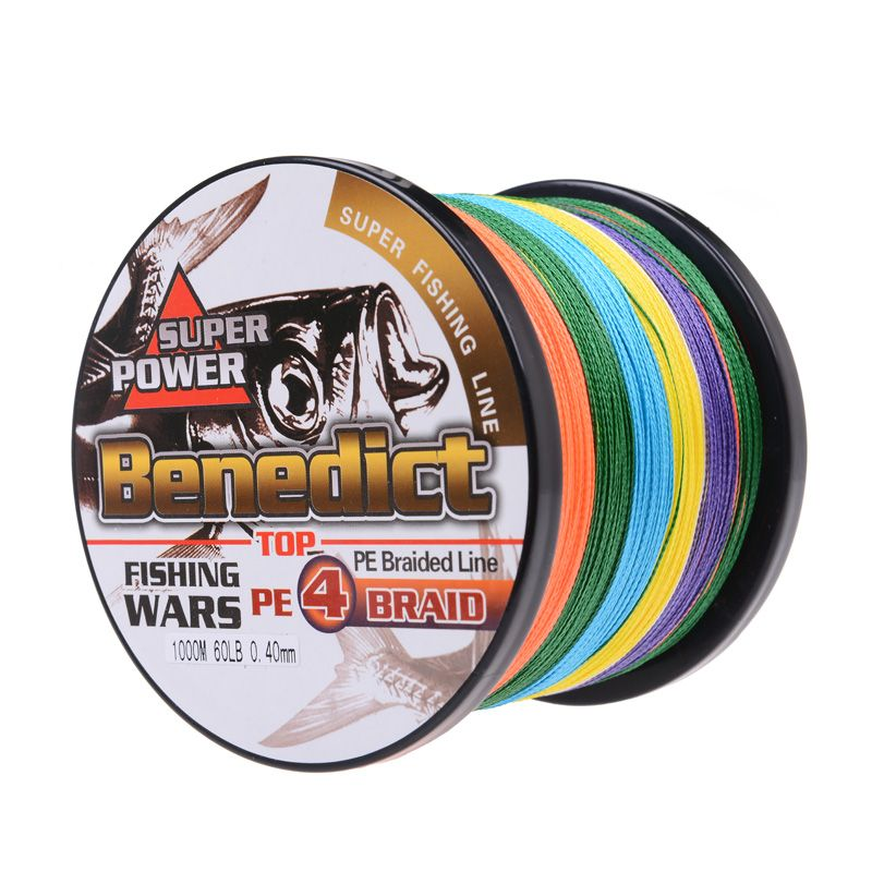 Brand new 1000M supper longlines for sea fishing 50 60 70 80 90 100LB strong braided fishing line 0.36mm-0.55mm large spool line