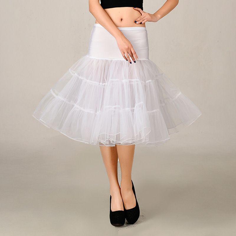 Angel Tree Vintage Short Organza Halloween Petticoat For Bridal Crinoline Petticoat Wedding Skirt Underskirt Rockabilly Tutu