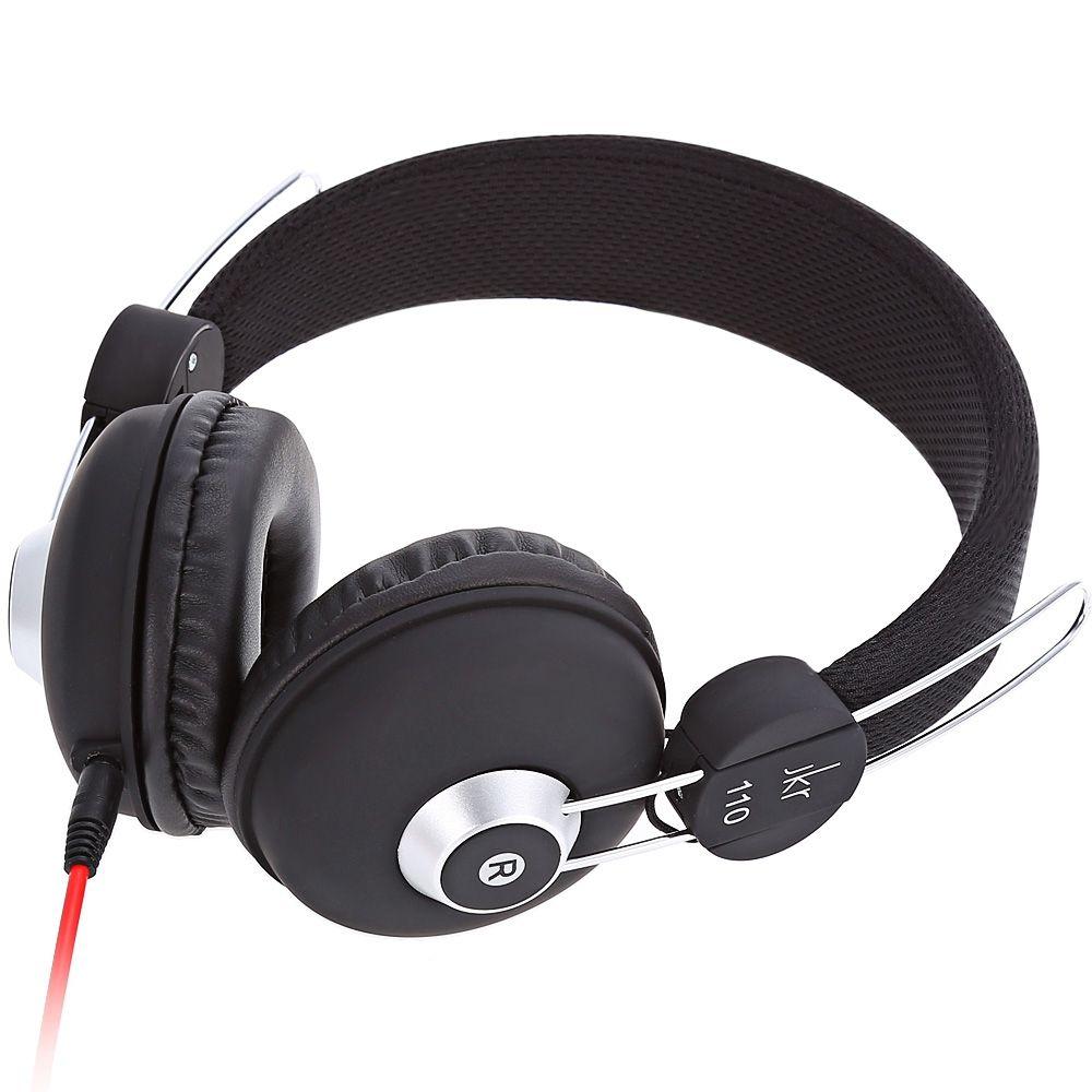 Tragbare Einfach Faltbare Wired Stereo HiFi Kopfhörer Schalldichte 3,5 MM Stecker Musik Headset für Computer Handy