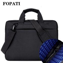 Laptop bag 17.3 17 15.6 14 12 inch Nylon airbag shoulder handbag computer bags Waterproof Messenger Women men  Notebook bag 2018