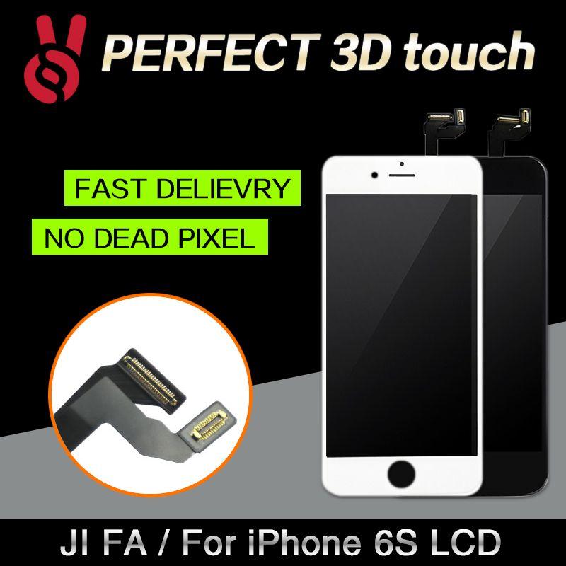 10 pcs De Bonne Qualité Pour iPhone 6 s Écran LCD Avec 3D Tactile Numériseur Remplacement D'assemblée D'affichage Aucun Pixel Mort livraison gratuite DHL