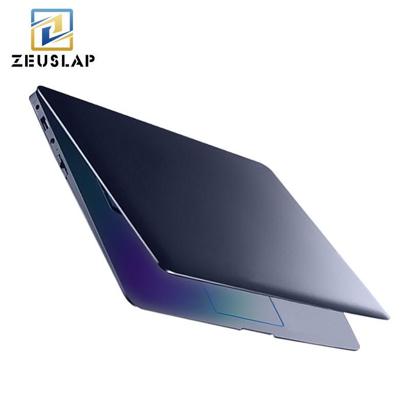 ZEUSLAP 14 inch 8g RAM 64 gb SSD 500 gb HDD Intel Quad Core Windows 10 System 1920X1080 p FHD Ultradünne Notebook Computer Laptop