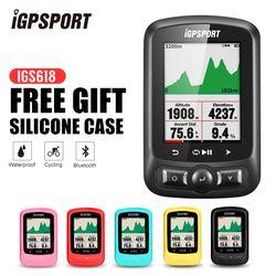IGPSPORT ANT + GPS IGS618 Sepeda Nirkabel Bluetooth Stopwatch Speedometer Tahan Air IPX7 Bersepeda Sepeda Speedometer Komputer