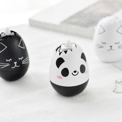 Novedad animal huevo presione tipo decorativo Cinta correctora diario papelería Escuela de suministro