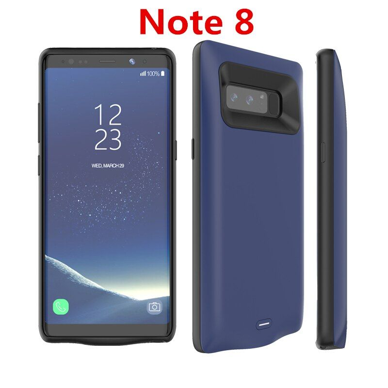 Note8 Battery Case For Samsung Galaxy Note 8 Battery Case 5500Mah Battery Charger Case Capa Power Bank For Samsung Note 8 Case
