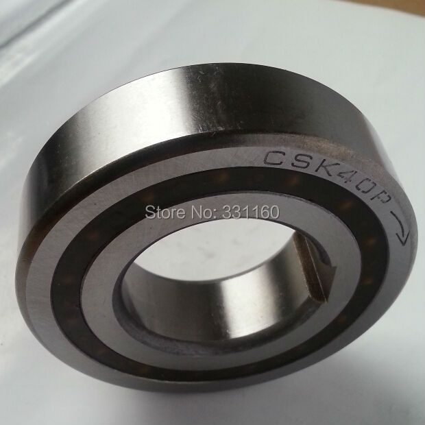 1pcs CSK40P only with inner race Keyway, cam clutch, one way bearing ,Backstop,sprag freewheels ,40*80*22 mm